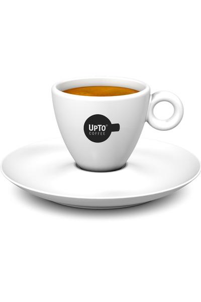 Espresso kop zwart vol