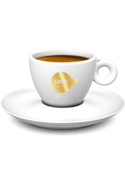 Koffie kop goud vol