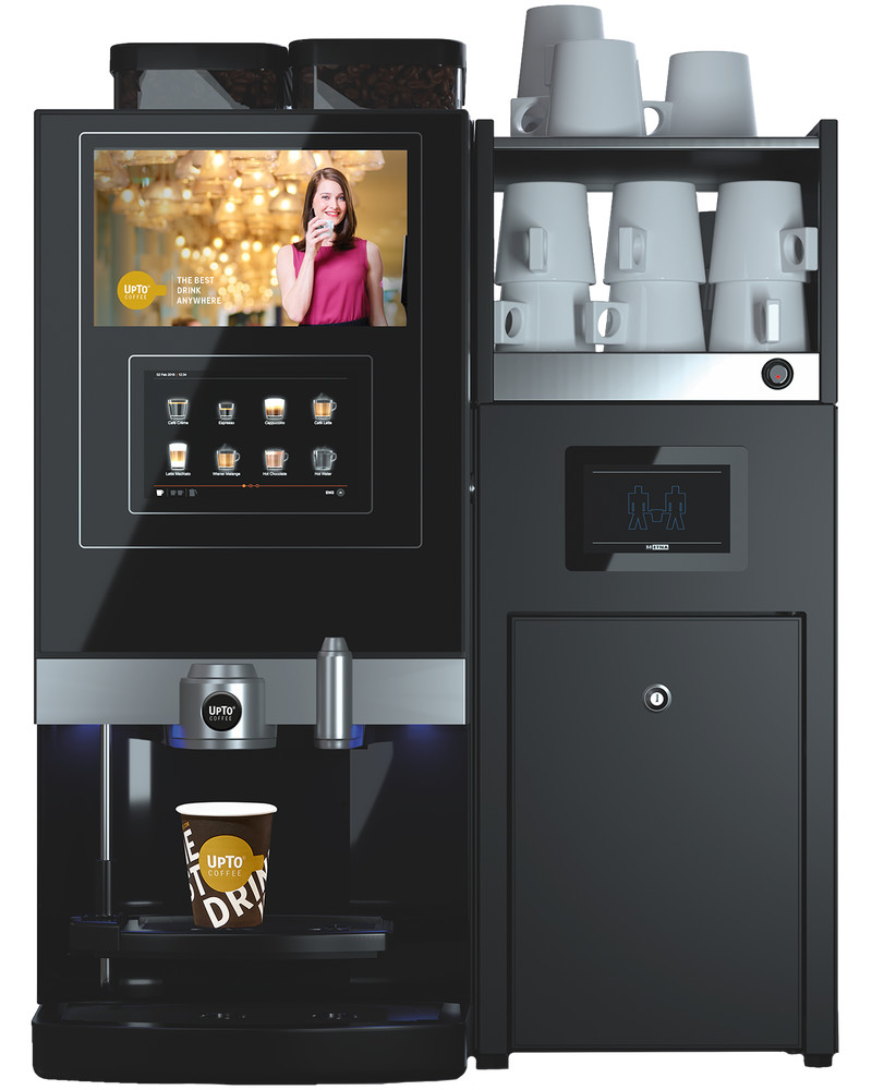 Dorado Espresso Medium met milkbase