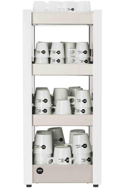 Koppenwarmer Medium wit