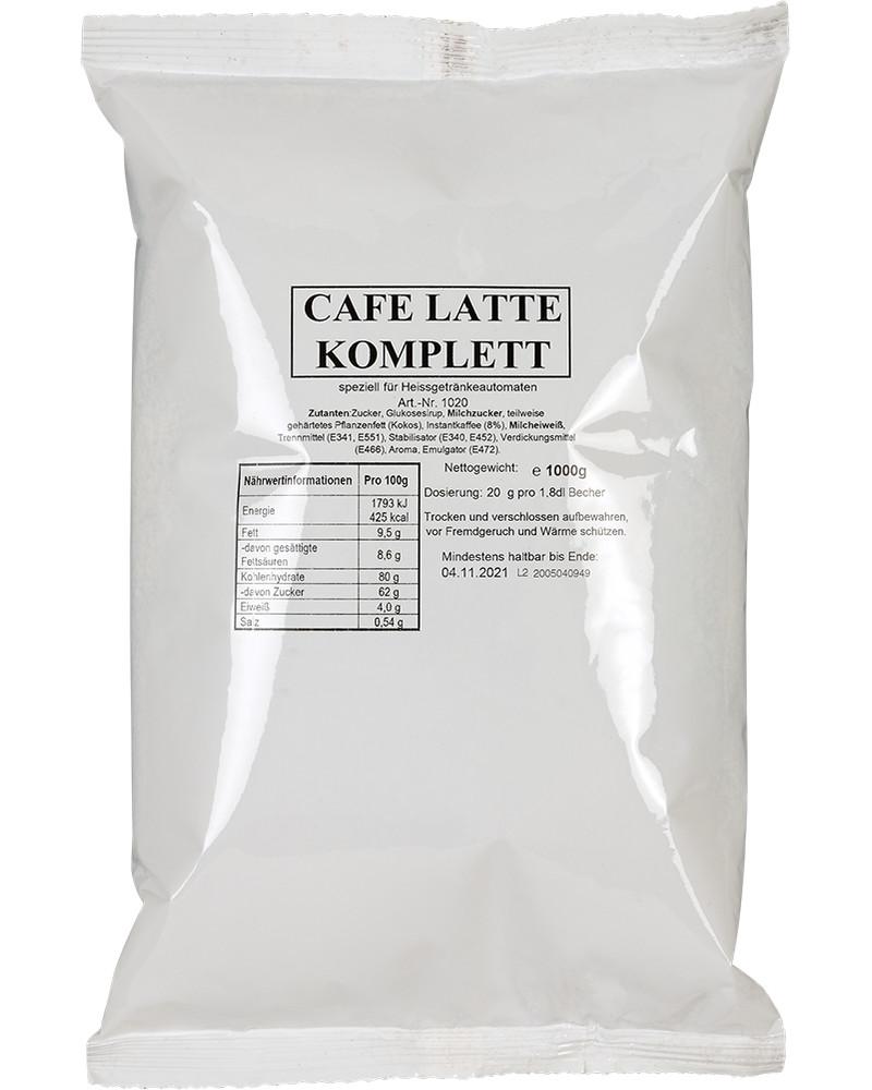 Cafe latte complett