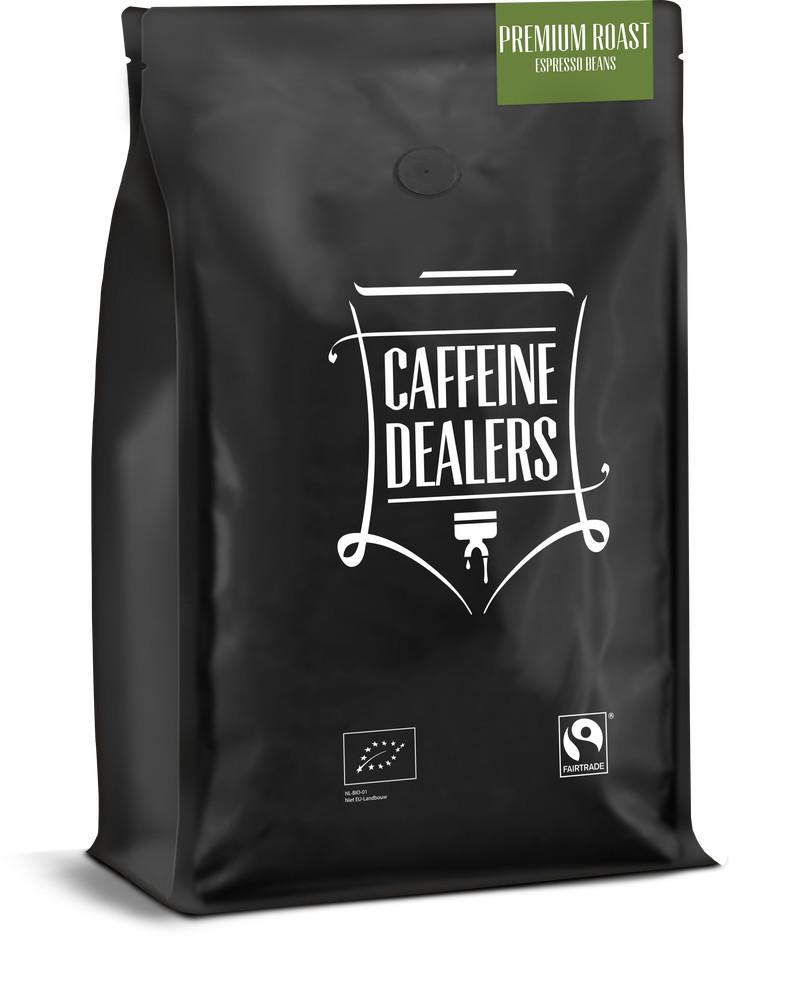 Caffeine Dealers Caffeine Dealers Premium Roast 3d 1kg Voorzijde