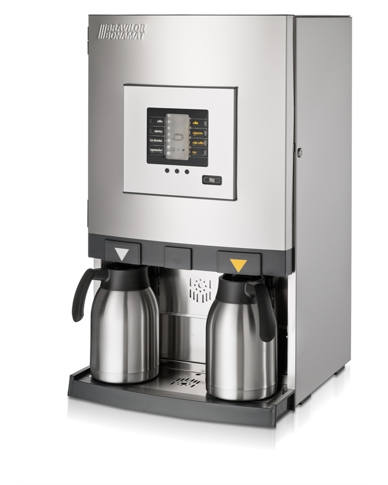 Bolero turbo xl with thermos flasks left side